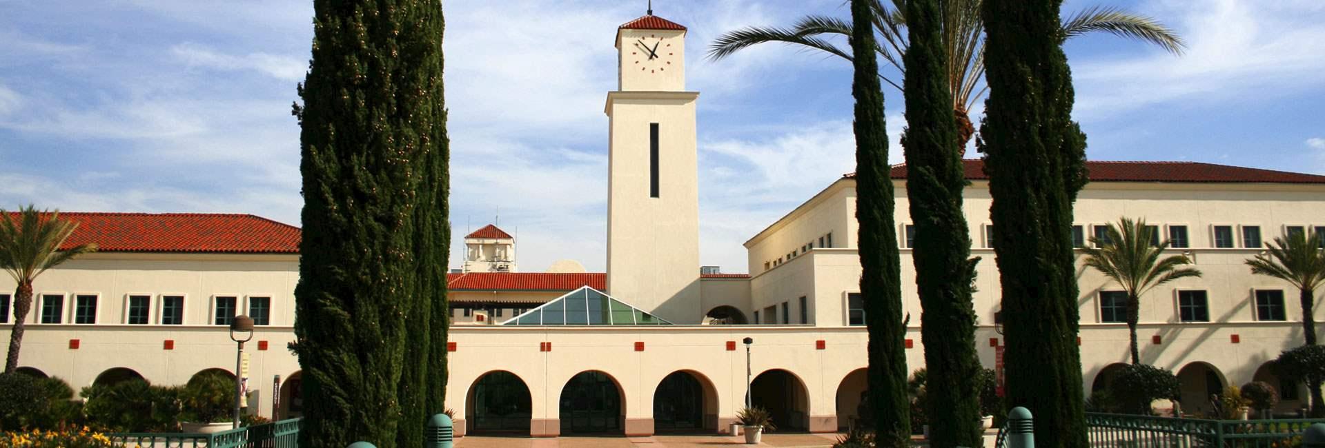 Location Lamplighter Inn & Suites at SDSU California