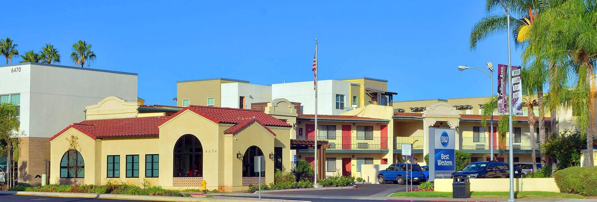 Site Map Lamplighter Inn & Suites at SDSU California