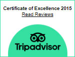Certificate Of Excellence Tripadvisor 2015