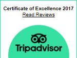 Certificate Of Excellence Tripadvisor 2017